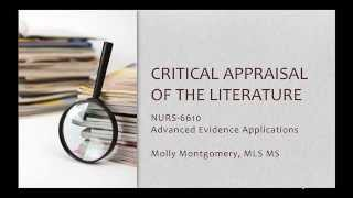 How to Critically Appraise Articles- Idaho State University Library