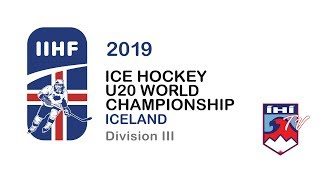 CHN vs TUR 2019 IIHF U20 DIVISION III