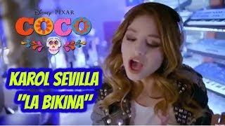 "Video thumbnail of ""Karol Sevilla - La Bikina (Official Video) ft. El Coco"""