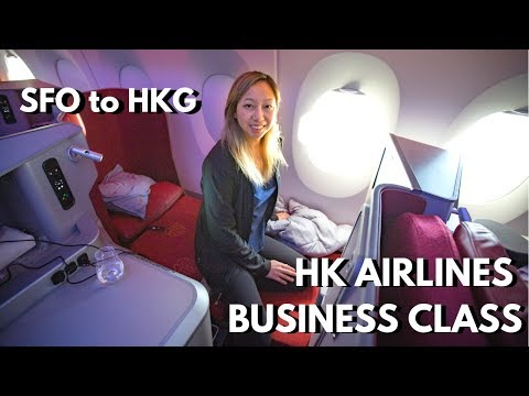 Hong Kong Airlines (A350) Business Class Review | SFO to HKG