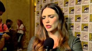 The Avengers: Age of Ultron: Elizabeth Olsen Comic Con Movie Interview