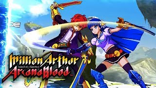 Picture of a game: Million Arthur Arcana Blood