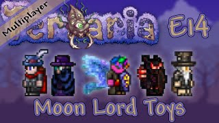Terraria 1.3 Multiplayer Expert Mode - Ep. 14 - Moon Lord Toys