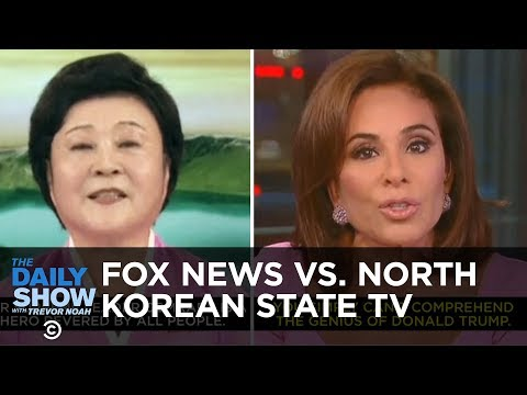Fox News vs. North Korean State TV | The Daily Show