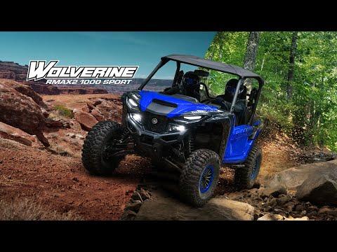 2022 Yamaha Wolverine RMAX2 1000 Sport in Massillon, Ohio - Video 1