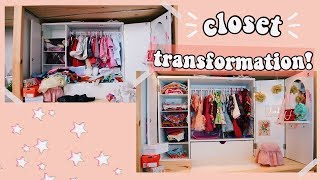 MAKING MY AMERICAN GIRL DOLL CLOSET!  |  Selling My Doll Clothes?!