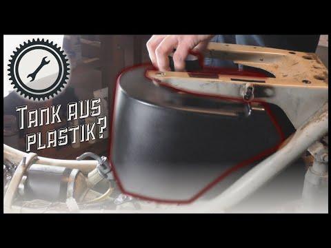 Schwalbe Tank aus Plastik - Alternative zum Blech Tank? -  Simson Einbau Anleitung Tutorial