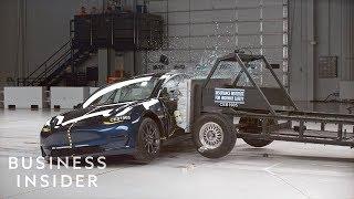 Why Tesla's Model 3 Received A 5-Star Crash Test Rating