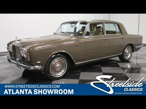 Video of '69 Silver Shadow - PS4A