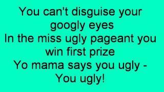 U.G.L.Y. - Daphne & Celeste ( lyrics )