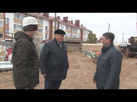 Оценили ход работ в с. Николо-Березовка