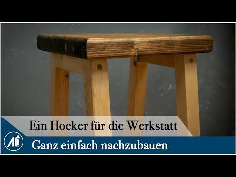 Ein HOCKER für die WERKSTATT ! Stabil und leicht..