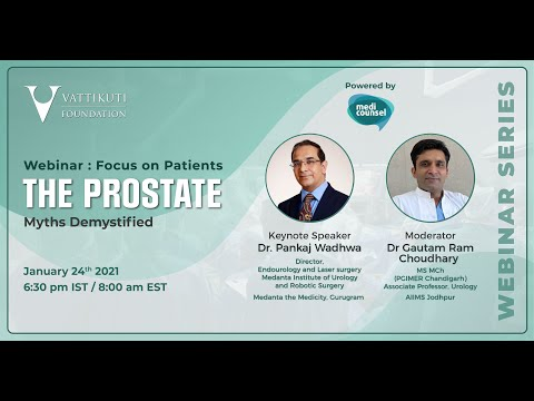 The Prostate-Myths Demystified Part 1