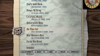 Guitar hero 3 song list (All SONGS). Все песни Guitar hero 3 Legends of Rock.