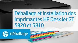 استعراض للطابعة HP DeskJet GT 5820 متعددة المهام مع خزانات