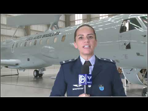 Embraer entrega el primer avión E-99M a la Fuerza Aérea Brasileña