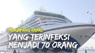 Penumpang Kapal Diamond Princess yang Terinfeksi Corona Bertambah Jadi 70 Orang