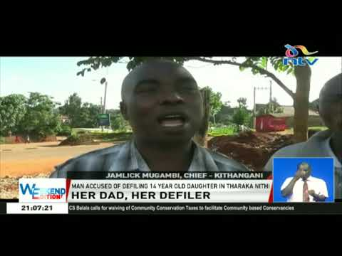 A 56-year-old man arrested for allegedly defiling 14-year-old daughter