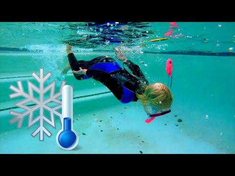 Swimming in Freezing Cold Water with a Wetsuit