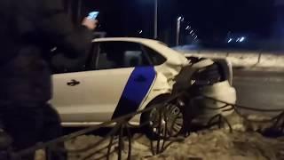 За ночь две машины «Яндекса» ушли в утиль