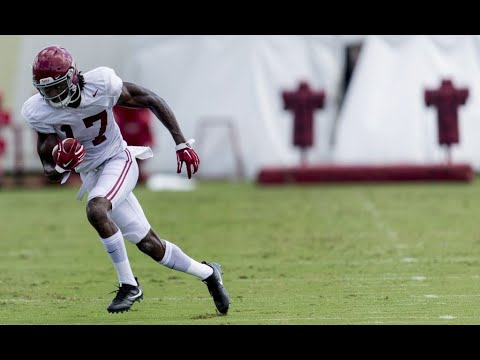 Alabama WR Cam Sims 'has that wiggle'