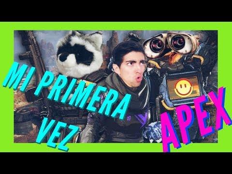 MI PRIMERA VEZ JUGANDO ESTE DESMADRE / APEX LEGENDS