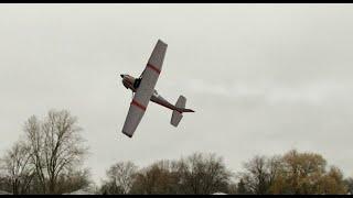 RC Cessna 182 Gas Engine Acrobatic flight Phoenix sim 5 Danger Sound