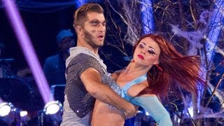 Kimberley Walsh & Pasha Paso Doble to 'Hungry Like the Wolf' - Strictly Come Dancing 2012 - BBC One