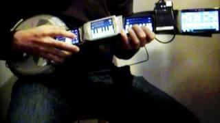 Гитара, Гитара из смартфонов (ВИДЕО)