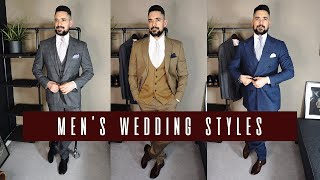 What To Wear To A Wedding | Mens Wedding Guest Outfits