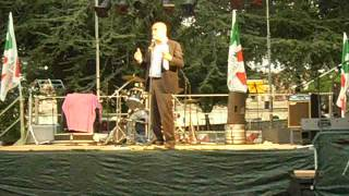 preview picture of video 'FESTA DEMOCRATICA A FRASCATI - Nicola Zingaretti ha detto che........ Parte prima'