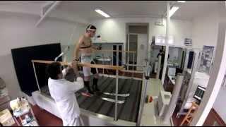 preview picture of video 'TEST ERGOMETRICO di MICHELE BOSCACCI presso l'Ospedale di Sondalo'