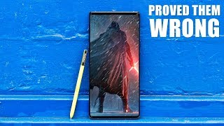 Samsung Galaxy Note 9 - Proving the Haters WRONG