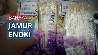 Kementan: Jamur Enoki Mengandung Bakteri, Masih Dijual di Mall Lippo Kramat Jati