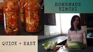 Homemade Small Batch Easy Kimchi Recipe