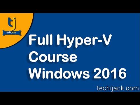 Hyper-v tutorial | Full Hyper-V course - YouTube