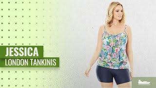 Los 10 Productos Más Vendidos De Jessica London: Jessica London Women's Plus Size Blouson Tankini