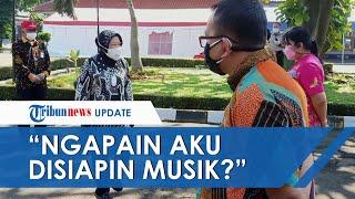 Disambut Organ Tunggal saat Kunjungan, Risma: Ngapain Aku Disiapin Musik? Emang Aku Kesenengan?