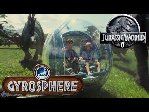 GIROSFERAS! JURASSIC WORLD ARK PARK 2