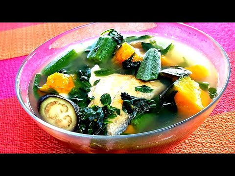 Watch the video on how to cook Laswa Recipe  Law-oy na Gulay