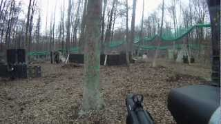 preview picture of video 'Paintball Montabaur Big Game 30.03.13'