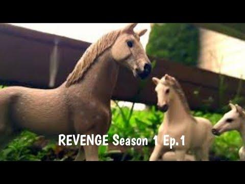 # REVENGE Season 1 Ep.1 # Schleich Horse series #Kristina Kashytska # horses #