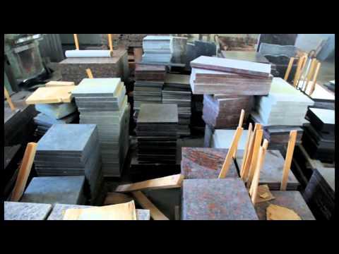 Виды обработки поверхности плит