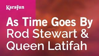 Karaoke As Time Goes By - Rod Stewart *