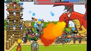 Защити замок игра стратегия  - Grow Castle