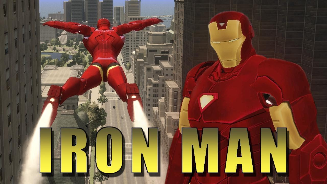 Modder Creates World's Coolest Iron Man Game (Inside Grand Theft Auto)