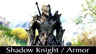 Skyrim Special Edition: ▶️Shadow Knight / Armor◀️ Mini Mod Showcase