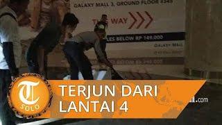 Seorang Pria Terjun dari Lantai 4 di Galaxy Mall Surabaya