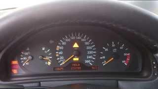 Mercedes W210 E290 cold start, -16 C  - Most Popular Videos