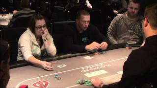 George St-Pierre Playing Poker At Playground Poker Club